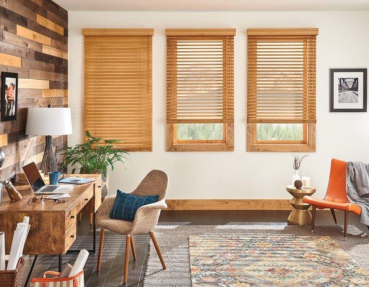 Rèm sáo gỗ phù hợp với nhiều kiểu trang trí nội thất hiện đại