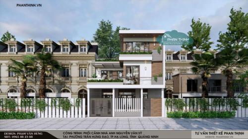 Tổng hợp hình ảnh thi công nhà 3 tầng hiện đại, anh Sỹ Trần Hưng Đạo