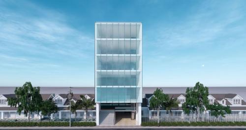 Tổng hợp hình ảnh giám sát nhà 7 tầng tại phường Trần Hưng Đạo
